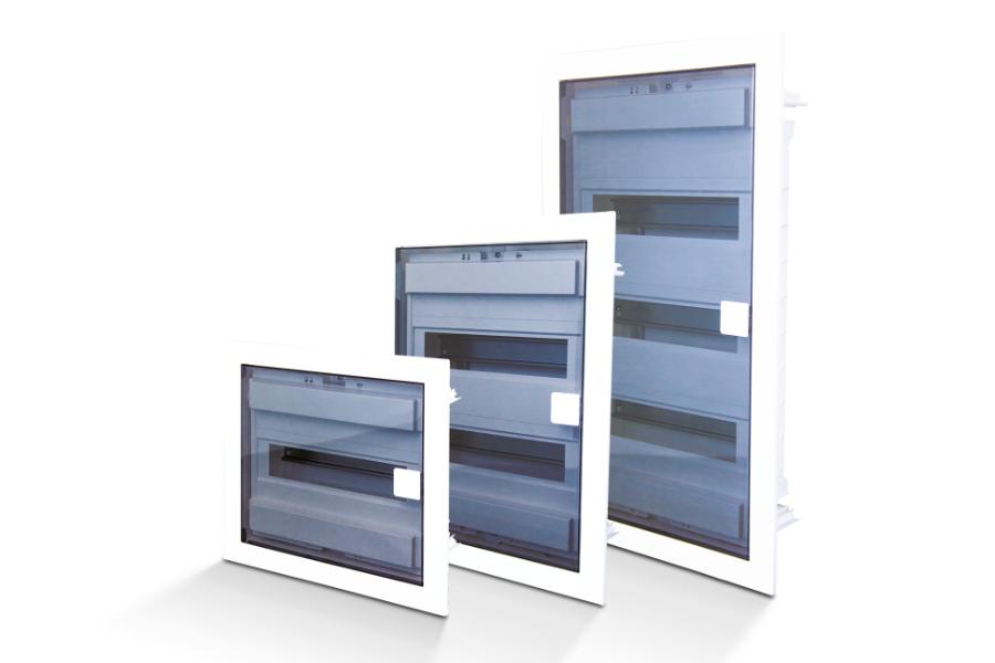 Verteilergehäuse mit transparenten Deckel