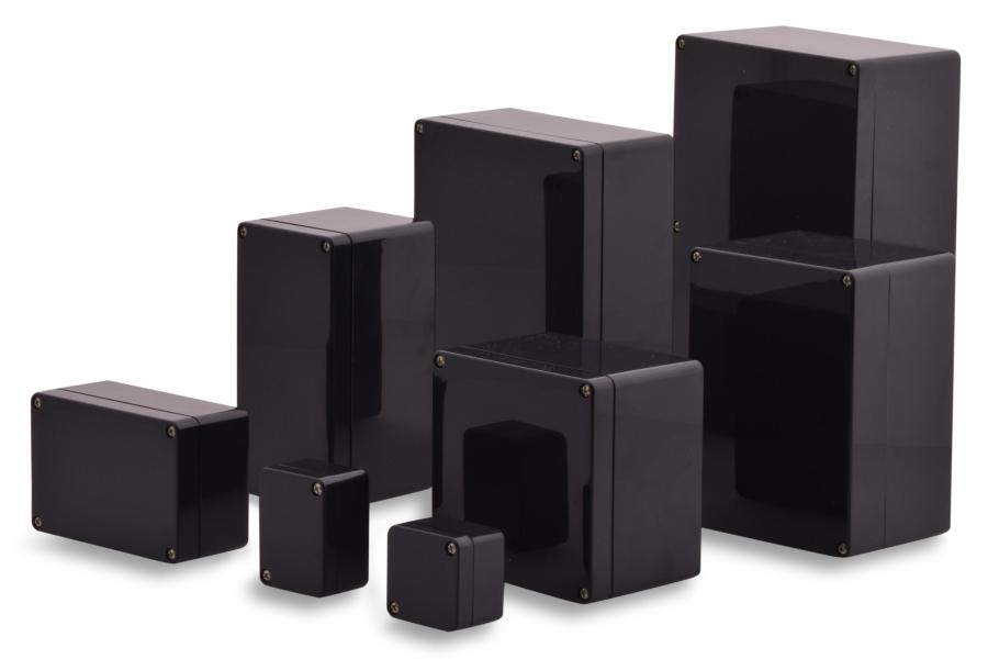 ABS Kunststoff Gehäuse in verschiedenen größen Serie Elbe