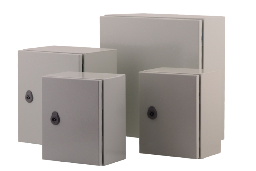 Metallgehäuse für den Einbau von empfindlichen Komponenten.