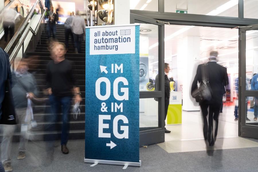 Boxexpert war mit seinen Industriegehäusen auf auf der All about Automation in Hamburg