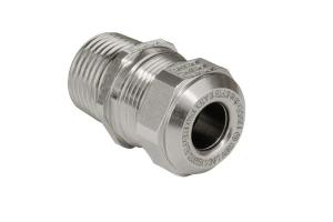 ATEX Kabelverschraubung als Zubehör und ideale Einführung an Gehäusen.