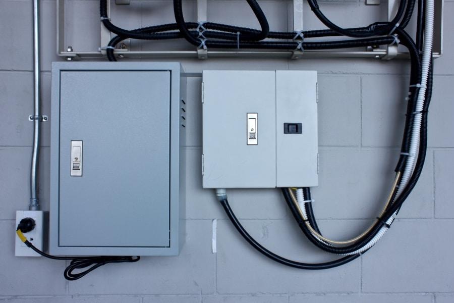 Serverschrank für den Einbau in der Haustechnik