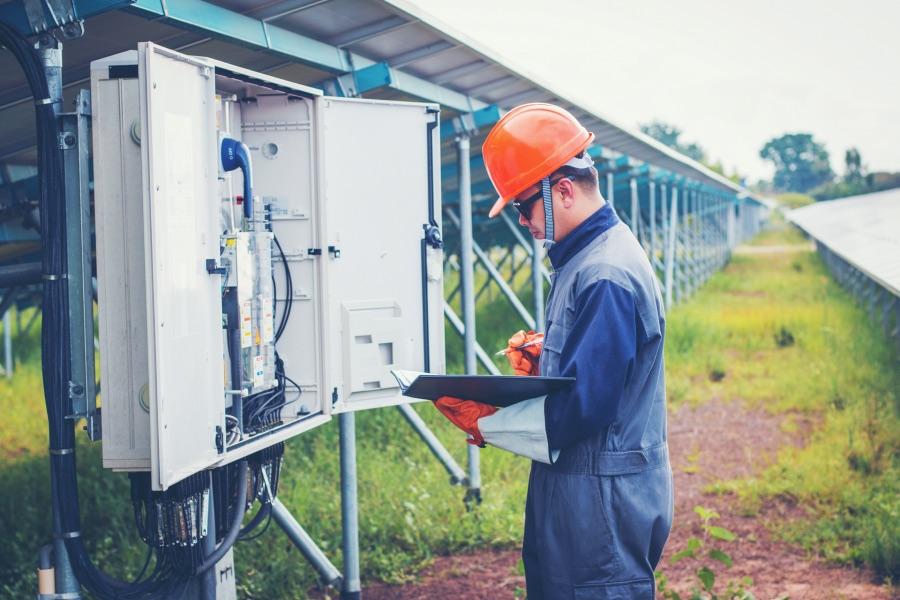 Die BOXEXPERT Gehäusesysteme werden auch an Solaranlagen eingesetzt.